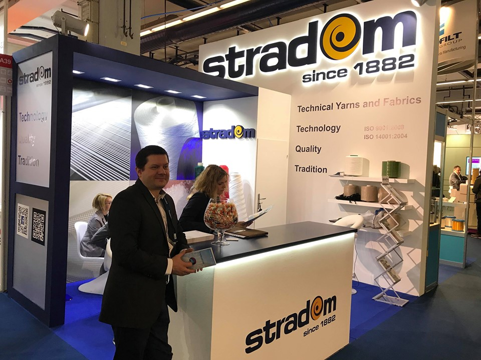 Stradom at Techtextil 2017 in Frankfurt